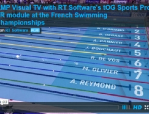 AMP Visual TV – Swimming – Product : tOG Sports with VR Version : 4.6.1 Description: AMP VISUAL TV AT FRENCH SWIMMING CHAMPIONSHIPS which was aired live on Eurosport France