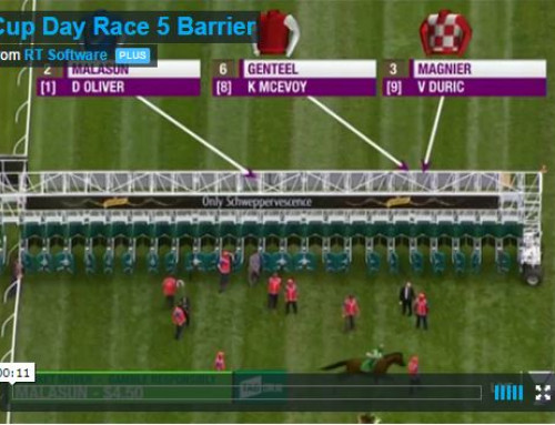 Cup Day Race 5 Barrier