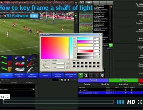 User Tip:- Key frame a shaft of light