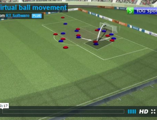 Virtual ball movement