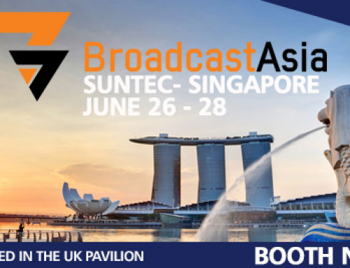 Meet us at Broadcast Asia 2018